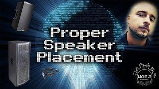 Pro Sound Speaker Placement