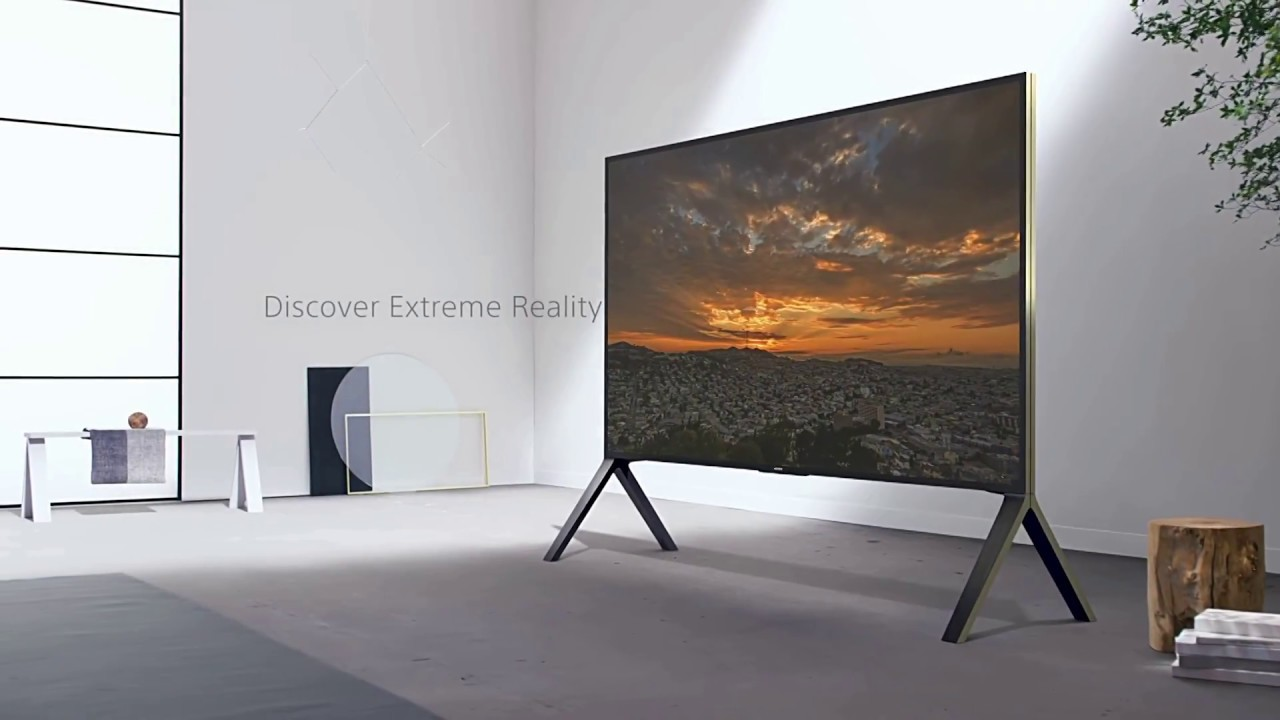 253 cm 100 zoll sony zd9 4k ultra hd smart tv android tv youtube. Black Bedroom Furniture Sets. Home Design Ideas