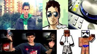 MÚSICA YOUTUBERS ELRUBIUS,MANGEL... | Dimitri Vegas,Moguai & Like Mike (MAMMOTH)