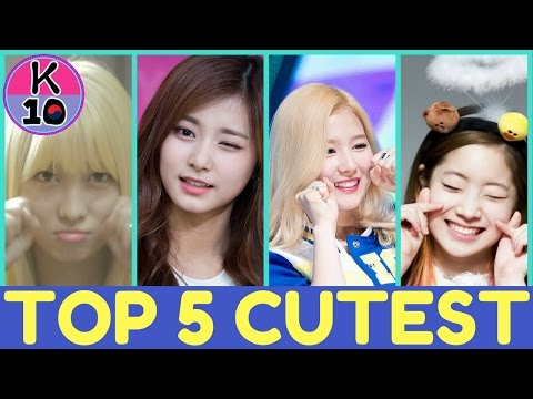 [VISUAL RANK] TOP 5 CUTEST TWICE MEMBER