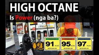 High Octane is Power (nga ba?) | Unleaded VS Premium Gas