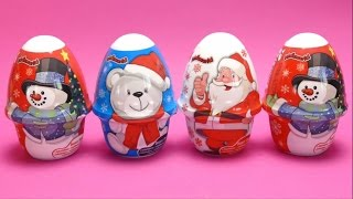 Kids World Christmas Toys - Snowman, Ice Bear & Santa Claus