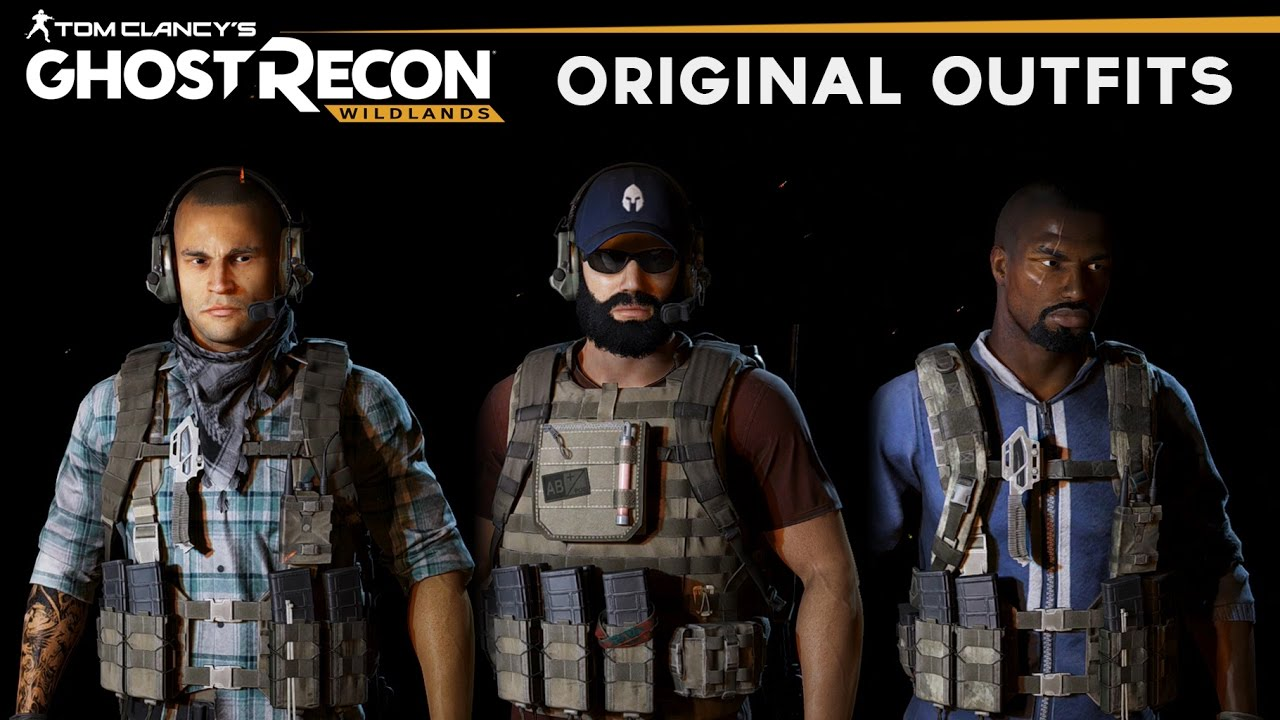 Ghost Recon Wildlands - How to make Original Outfits from Trailers (Nomad, Holt, Midas, Weaver Skin)