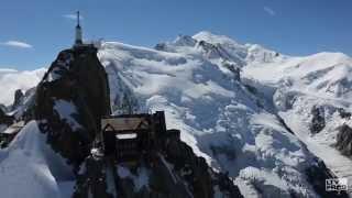 Aiguille du Midi (Chamonix, Haute-Savoie) - Helicopter Showreel