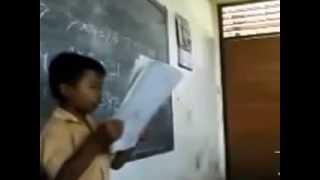 video gokil Anak sd Nyanyi Garuda pancasila Ngakak baget