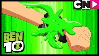 Ben 10 | Ben Falls In The Snow While Skiing | The Sound and The Furry | Cartoon Network
