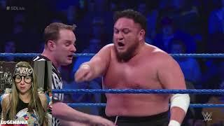 Download Video WWE Smackdown 1/1/18 Jeff Hardy vs Samoa Joe MP3 3GP MP4