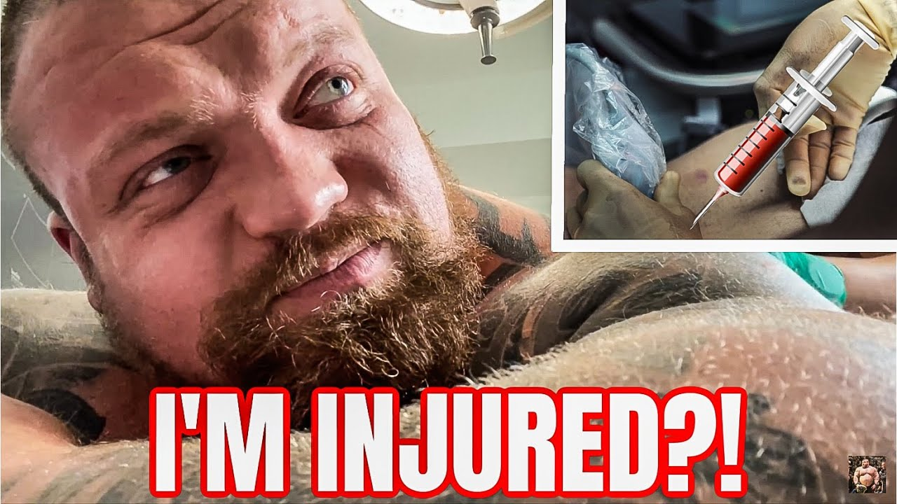 I'm Injured?! | Getting PRP Injections
