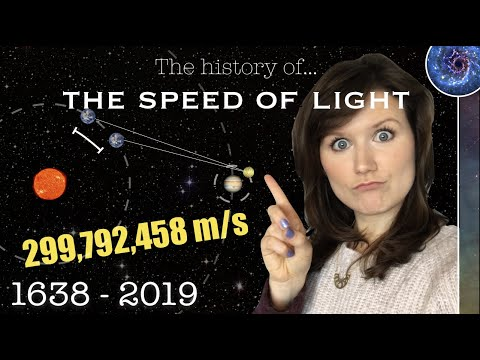 How did we measure the fastest speed there is? | The History of the Speed of Light