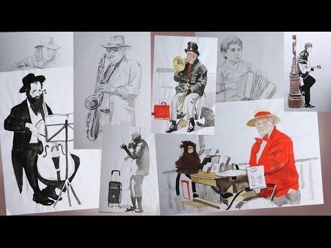 видео: НАБРОСКИ. Учимся рисовать Карандашом / Пропорции в Рисунке
