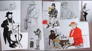 НАБРОСКИ. Учимся рисовать Карандашом / Пропорции в Рисунке(Наброски- один из важнейших тренингов для развития глаза и понимания пропорций. И именно о них мы сегодня..., 2014-03-19T21:30:47.000Z)