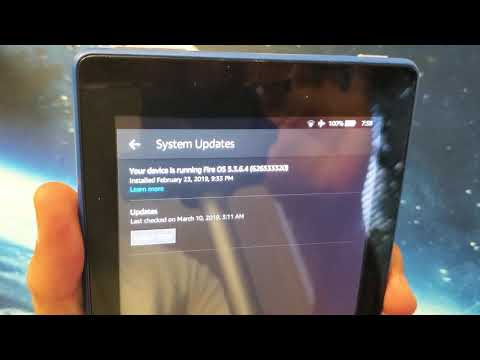 Amazon Fire 7 Tablet: How to Update Software Version