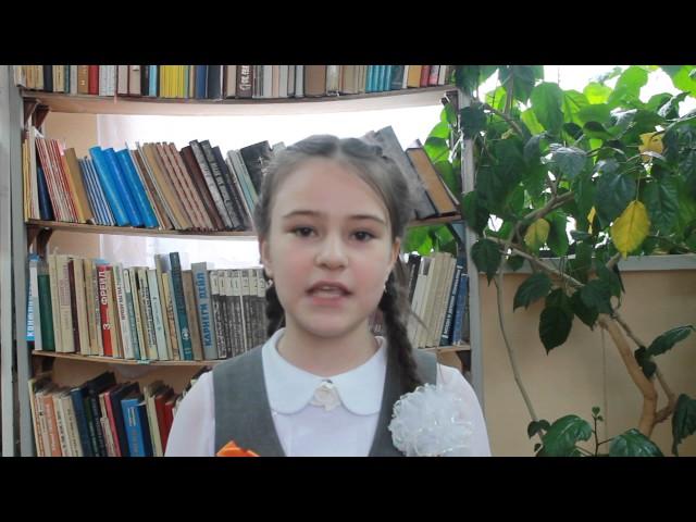 Изображение предпросмотра прочтения – МарияОралова читает произведение «Что такое День Победы?» А.А.Усачева