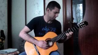 Aynur -- Гитара (голос души), Восточная. Подобрал на слух за недельку и сразу записал!
