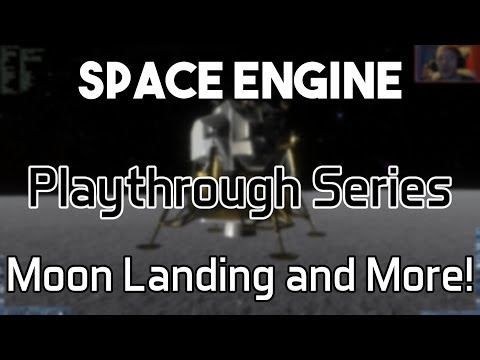 Exploring Moon Landing Sites And More In SpaceEngine!