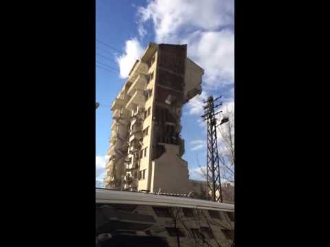 Malatya İstihbarat Binası Yıkımı