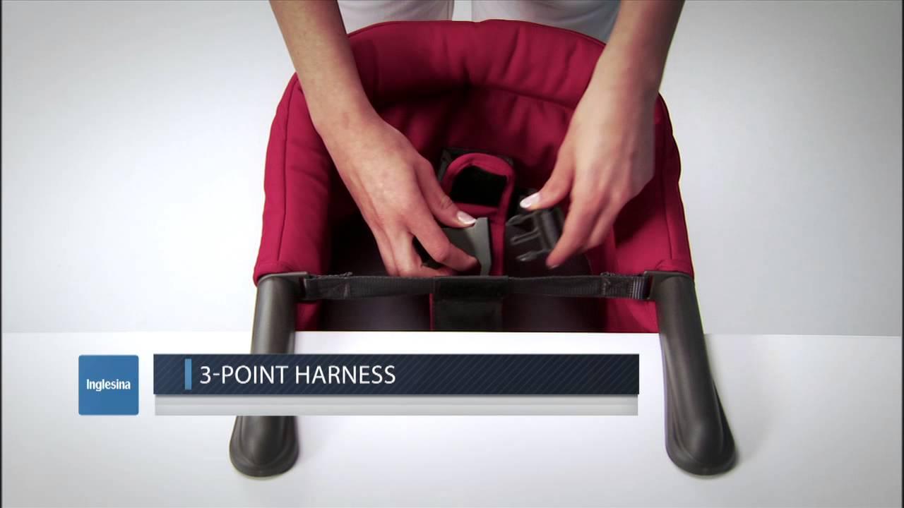 Inglesina fast table chair marina - Inglesina Fast Chair Demo