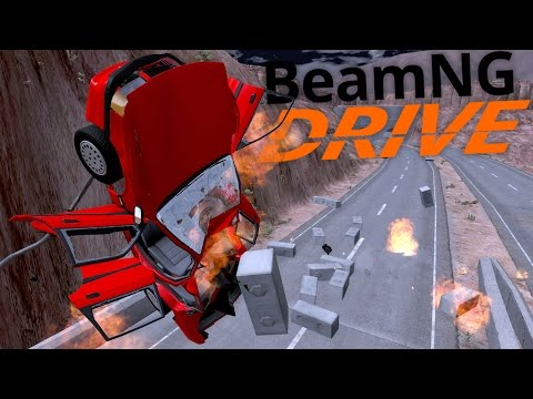 BeamNG Drive Gameplay - The Bridge Connundrum - An Amazing BeamNG Story (BeamNG Drive Highlights)
