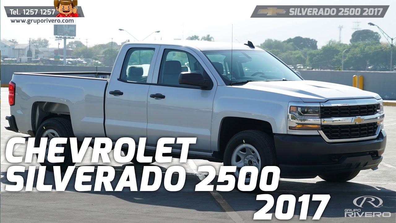 Chevrolet Silverado 2015 >> Chevrolet Silverado 2500 2017 - Monterrey, México - Grupo Rivero - YouTube