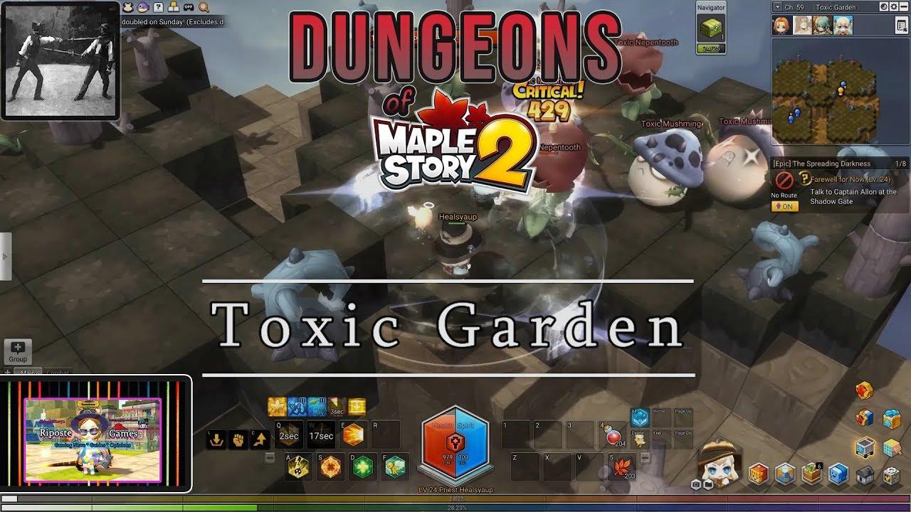 Dungeons of MapleStory 2: Toxic Garden