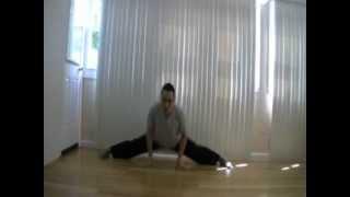 How To Do The Splits - Side Split Slides Forward In Straddle- Split Doesn't Hold