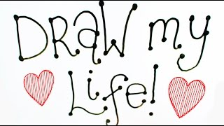 DRAW MY LIFE | happiness - suicidal - recovering | marieroseeee