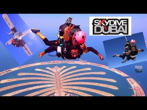 NH VLOGS AT SKYDIVE DUBAI | MY FIRST EVER JUMP | DUBAI PALM JUMEIRAH VIEW | KOCHI VLOGGER