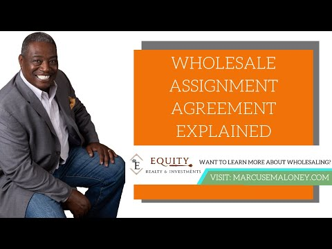 Wholesale Real Estate Assignment Contracts