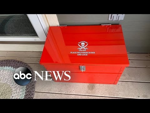 See How to Protect Packages from Porch Pirates!