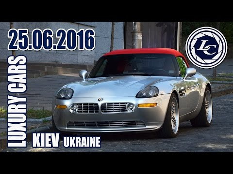 Luxury Cars In Kiev (25.06.16) BMW Z8 Alpina Roadster V8