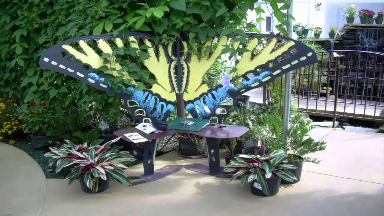 Bon [Garden Ideas] *Butterfly Bench Garden Ideas*   YouTube