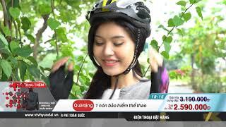 [VTV-HYUNDAI] HAHOO - XE ĐẠP GẤP THỂ THAO + 1 nón bảo hiểm + 1 đôi găng tay