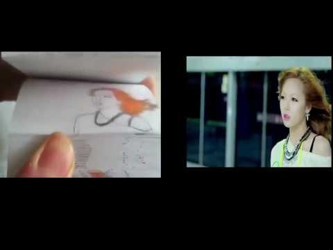 Gangnam Style vẽ bằng tay trên giấy cực đỉnh