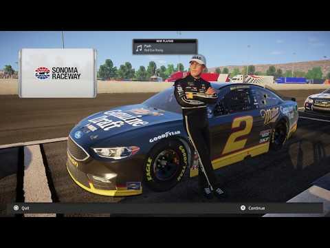 NASCAR Heat 2 - Brad Keselowski @ Sonoma