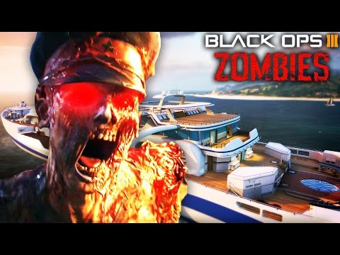 "BLACK OPS 3 ""HIJACKED"" ZOMBIES REMAKE! - CALL OF DUTY ZOMBIES CUSTOM MAP GAMEPLAY!"