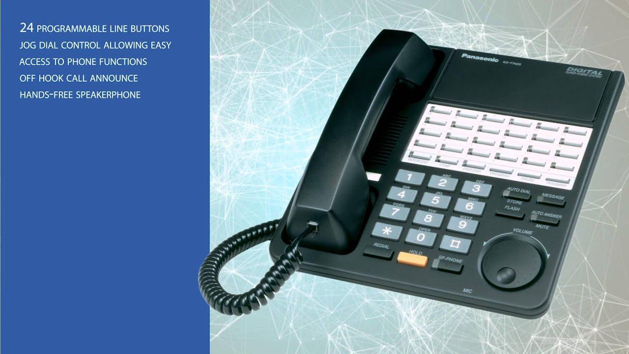 panasonic kx-t7425 phone manual