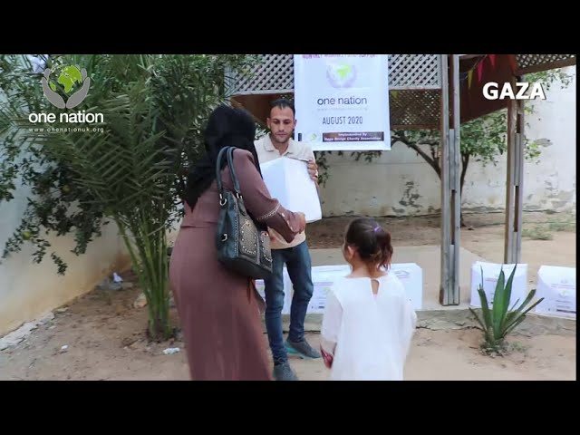 Food Parcels Distribution To Widows In Gaza ~ August 2020
