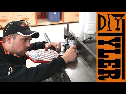 Set Jointer Knives With No Special Jigs   D2D DIY