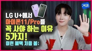 정식 출시 된 아이폰11/아이폰11 Pro. 어디서 사야 이득?! [LG U+에서 사야 하는 이유 5가지 알려드림!]