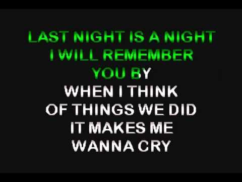 2  THE NIGHT BEFORE (KARAOKE)
