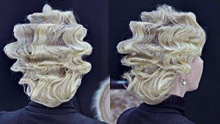 """Урок """"Волны""""   Авторские причёски   Лена Роговая   Hairstyles by REM   Copyright ©"""