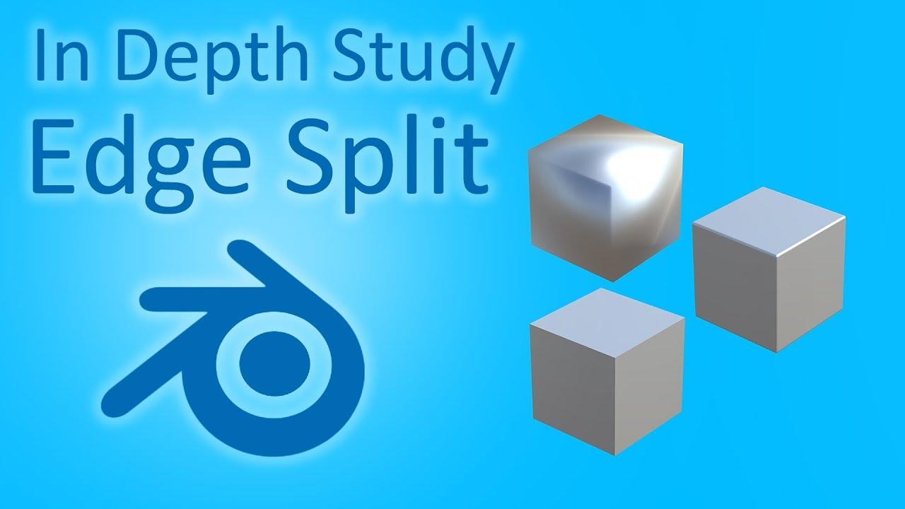 In Depth Study Of Blender Edge Split Modifier Youtube