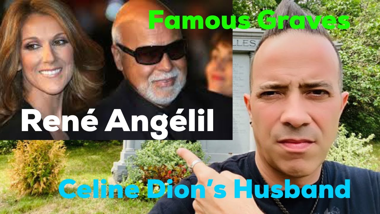 Famous Graves: Rene Angelil Husband of Celine Dion | Famous Music Manager's Grave & Funeral Footage