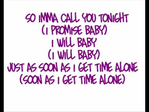Whitney Houston  Call You Tonight ♪♫Lyrics♫♪
