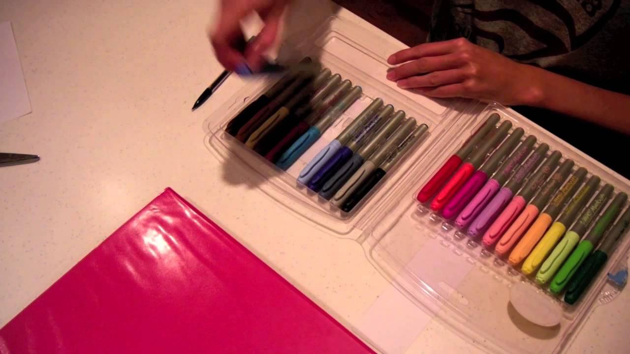 DIY Binder Decorations YouTube