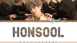 Download lagu AGUST D - 'HONSOOL' (혼술) Lyrics [Color Coded_Han_Rom_Eng]