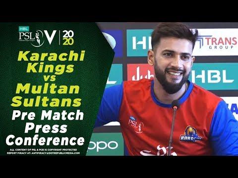 Imad Wasim Press Conference | Karachi Kings Vs Multan Sultans | HBL PSL 2020