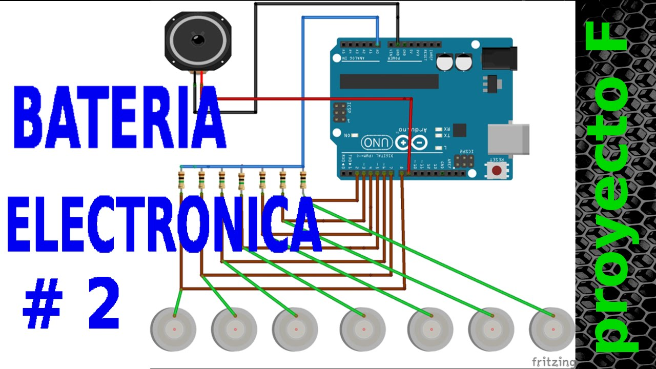 Bateria Electronica Arduino
