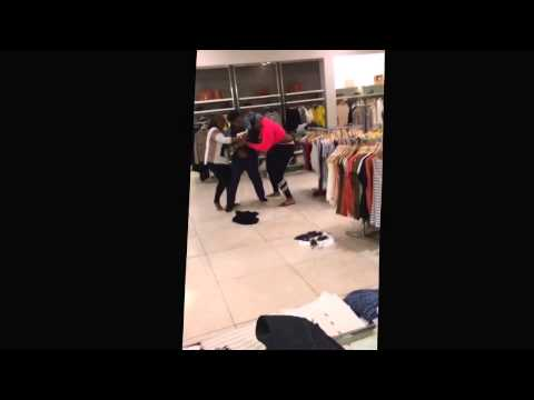 Women Fight Over a Piece Of Clothing In a Department Store