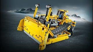 Lego Technic 42028 Bulldozer Model A. Need For Bricks. Speed Build. Old video